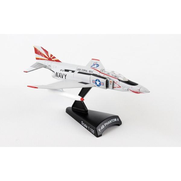 Daron Worldwide Trading Postage Stamp F-4B Phantom II Sundowners 1/155 Scale Model Kit 25612697