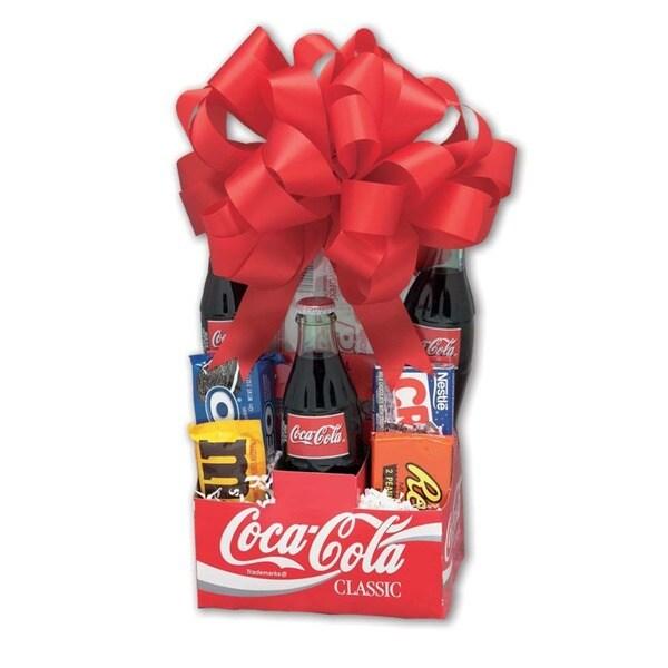 Classic Coca Cola Gift Basket 1139289 Overstock Com
