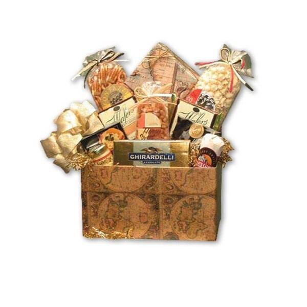 Classic Globe Medium Gift Basket
