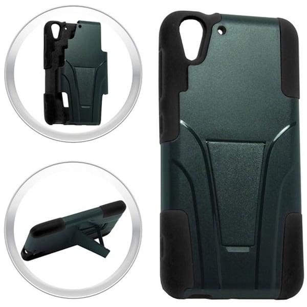 (XL) HTC Desire EYE Hybrid Case w/ Stand Black 25674660