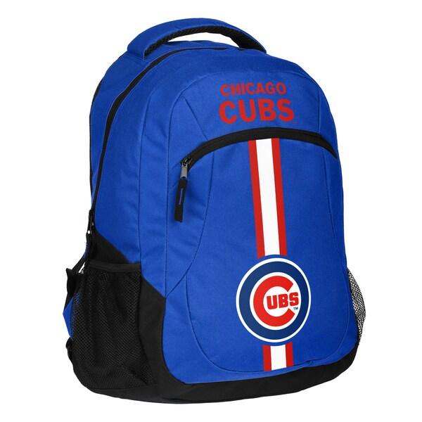 Chicago Cubs MLB Action Stripe Logo Backpack 25680733