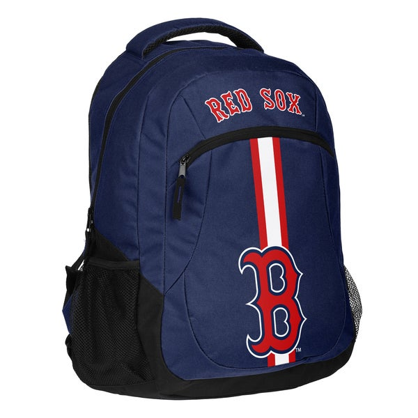 Boston Red Sox MLB Action Stripe Logo Backpack 25680742