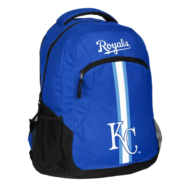 Kansas City Royals MLB Action Stripe Logo Backpack 25680743