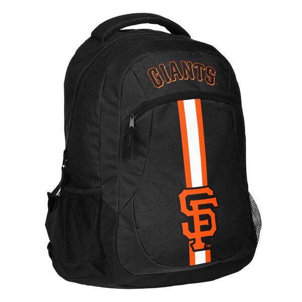 San Francisco Giants MLB Action Stripe Logo Backpack 25680756
