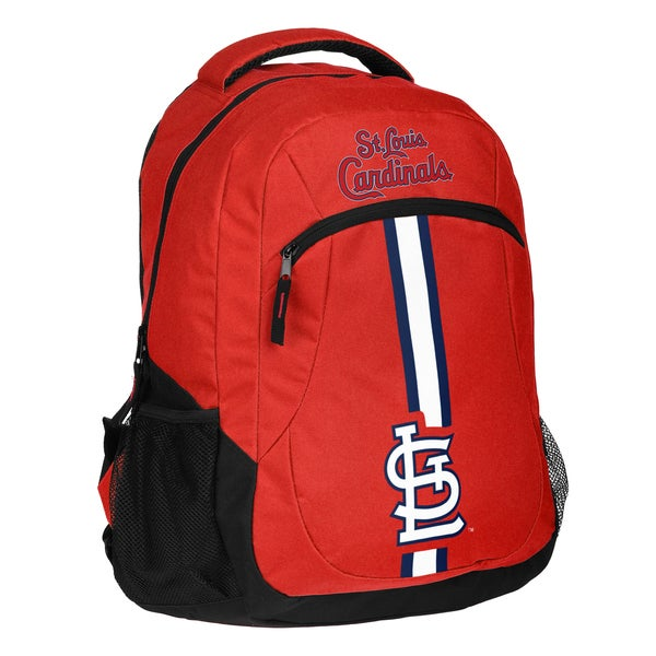 St. Louis Cardinals MLB Action Stripe Logo Backpack 25680757
