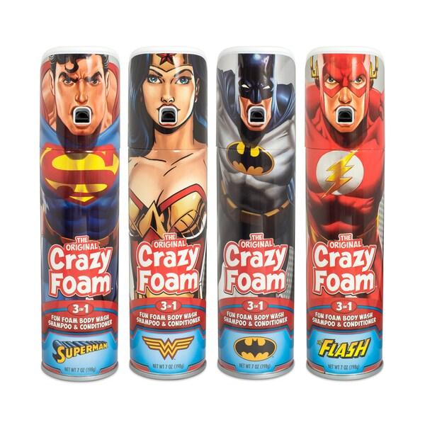 Crazy Foam DC Justice League 4 Pack 25680856