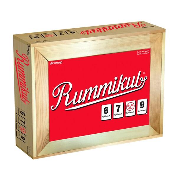 Pressman Rummikub Deluxe Large Number in Wooden Box 25681788