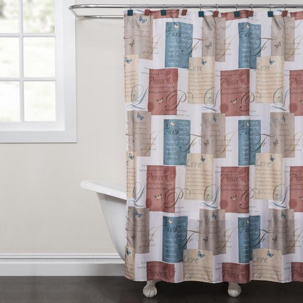 Saturday Knight Cherish Shower Curtain 25683332