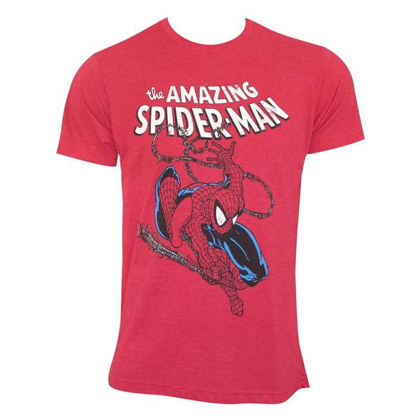 Spiderman Swinging Tee Shirt 25692352