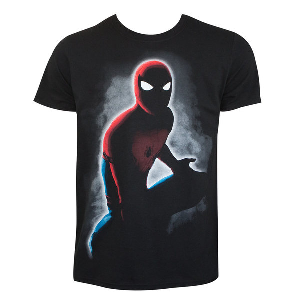 Spiderman In The Dark Tee Shirt 25693536