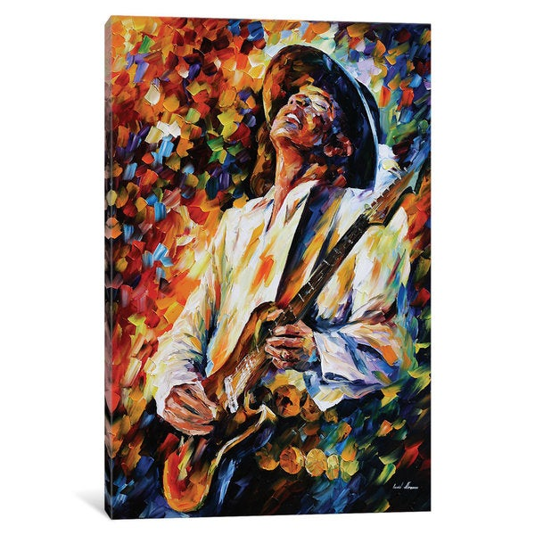 iCanvas 'Stevie Ray Vaughn' by Leonid Afremov Canvas Print 25694267