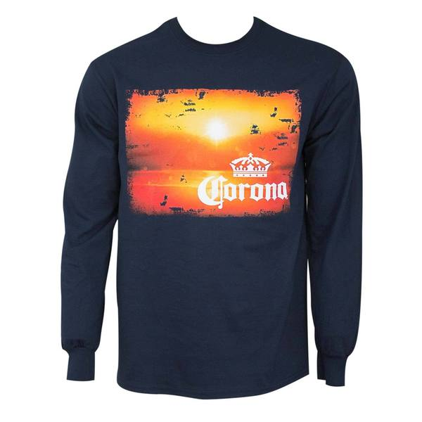 Corona Extra Long Sleeve Sunset Tee Shirt 25694889