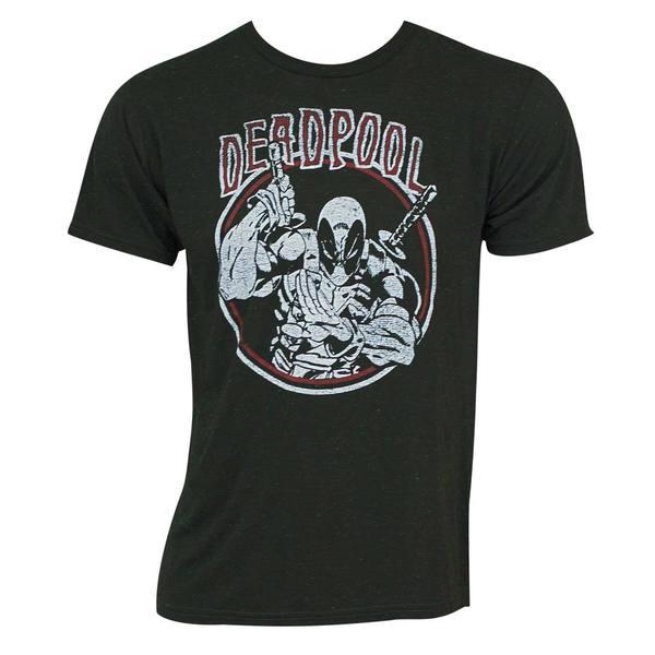Deadpool Circle Logo Tee Shirt 25695293