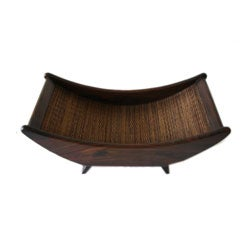 Wood Bamboo Fruit Tray (Indonesia)