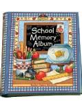 School Memory Album: A Collection Of Special Memories, Photos, And Keepsakes From Kindergarten Through Sixth Grade (Hardcover)