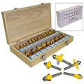 HomePro Multi-purpose 24-piece Router Bit Set