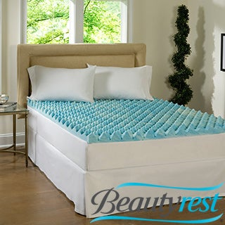 Beautyrest 3-inch Big Loft Gel Memory Foam Mattress Topper