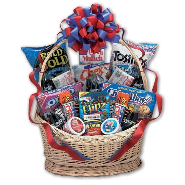 Classic Coke Snack Works Large Gift Basket 1776027