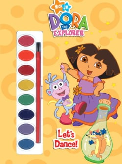 Nick Jr. Dora the Explorer Let's Dance! (Novelty book)