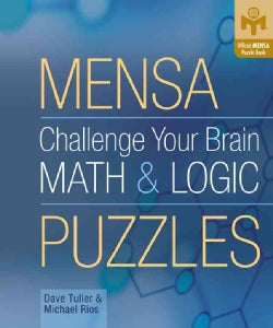 Mensa Challenge Your Brain Math & Logic Puzzles (Paperback)
