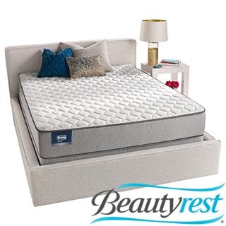 Simmons BeautySleep Kenosha Firm King-size Mattress Set