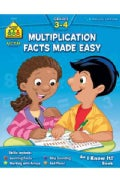 Multiplication Facts Made Easy 3-4 (Paperback)