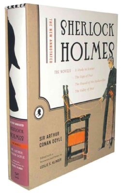 New Annotated Sherlock Holmes: The Novels: A Study In Scarlet / The Sign Of Four / The Hound Of The Baskervilles ... (Hardcover)