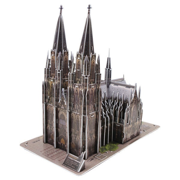 Cologne Cathedral Kolner Dom in Germany 231-piece 3D Puzzle 25896594