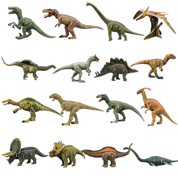 Dinosaur Series: The Lost World 91-piece 3D Puzzle 25896693