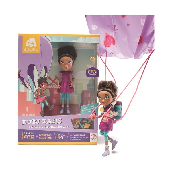 Ruby Rails Skydive Action Figure 25897090