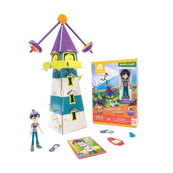 Li's Lighthouse Lookout Construction Toy 25897095