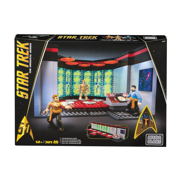 Star Trek the Original Series - Transporter Room: 321 Pcs 25897188