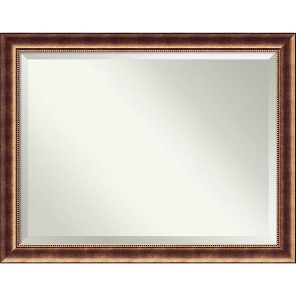 Wall Mirror Oversize Large, Manhattan Bronze 46 x 36-inch 25897260