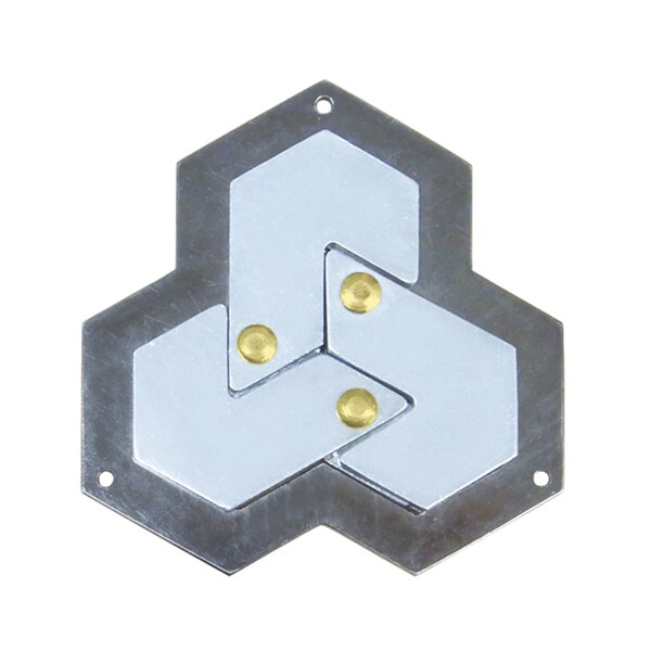 Hanayama Level 4 Cast Puzzle - Hexagon 25897371
