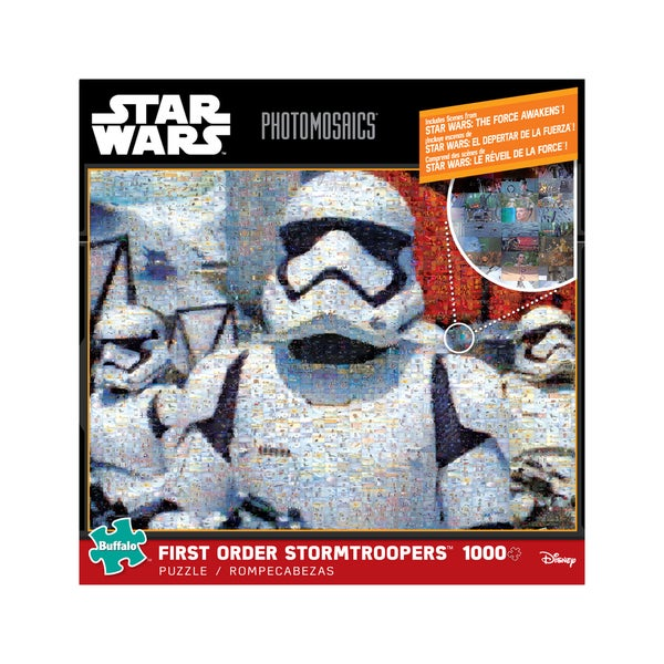 Star Wars Photomosaics - First Order Stormtroopers: 1000 Pcs 25897381