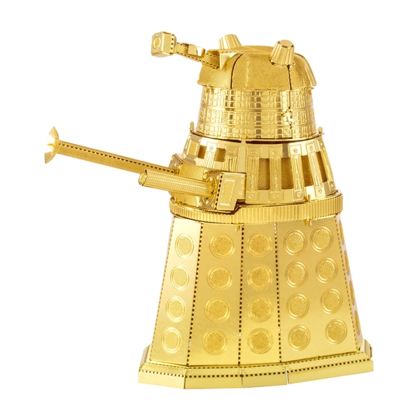 Metal Earth 3D Laser Cut Model - Dr. Who Gold Dalek 25897465