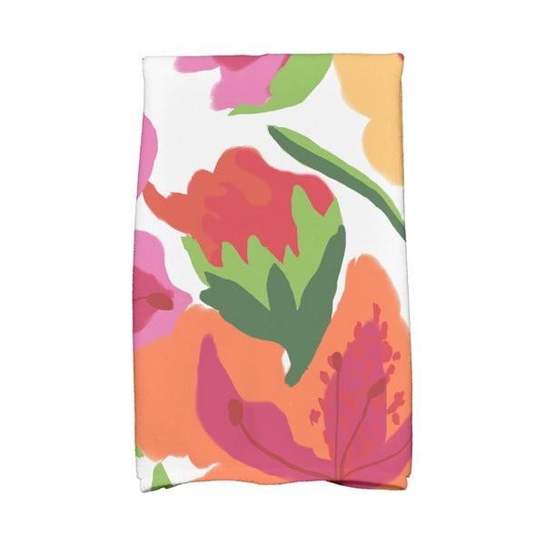 Tropical Floral Floral Print Kitchen Towels (As Is Item) 31410518
