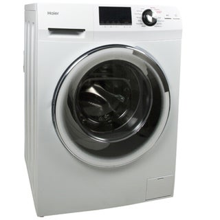 "Haier HLC1700AXW 24"" Combination Front Load Washer/Dryer 25934958"