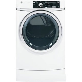 """GE RightHeight Design GFDR270GHWW 28"""" Front-Load Gas Dryer 25935994"""