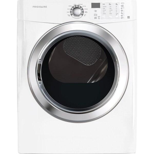 "Frigidaire FFSG5115PW  27"" Freestanding Front Load Gas Dryer 25936177"
