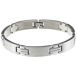 Men's Stainless Steel Link Bracelet