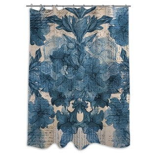 Oliver Gal 'Lost Love Letters' Shower Curtain