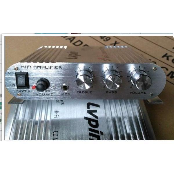 200W 12V Mini Hi-Fi Amplifier Booster Radio 25942324