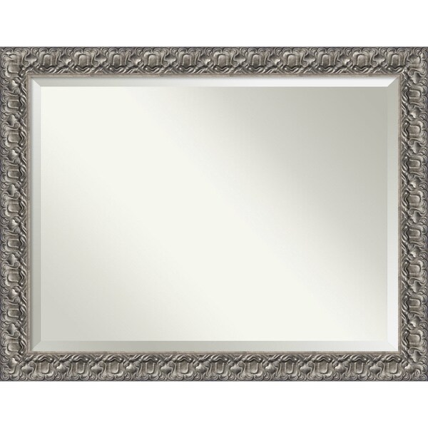 Wall Mirror Oversize Large, Silver Luxor 46 x 36-inch 25958608