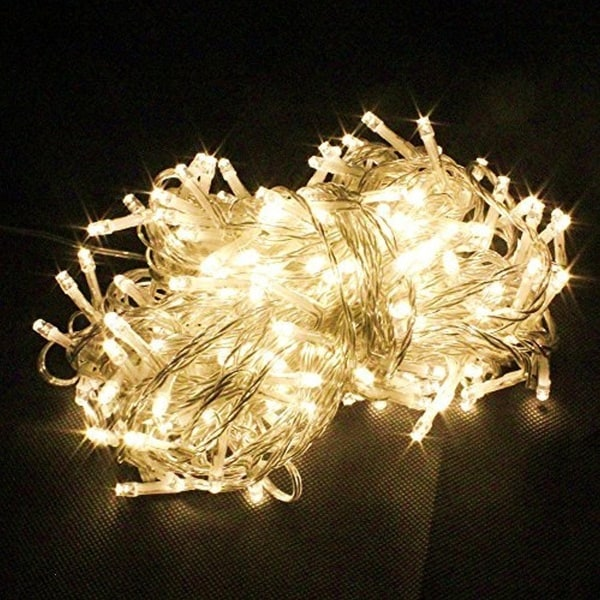 100 LED String Light w/ connector - Warm White 25959997