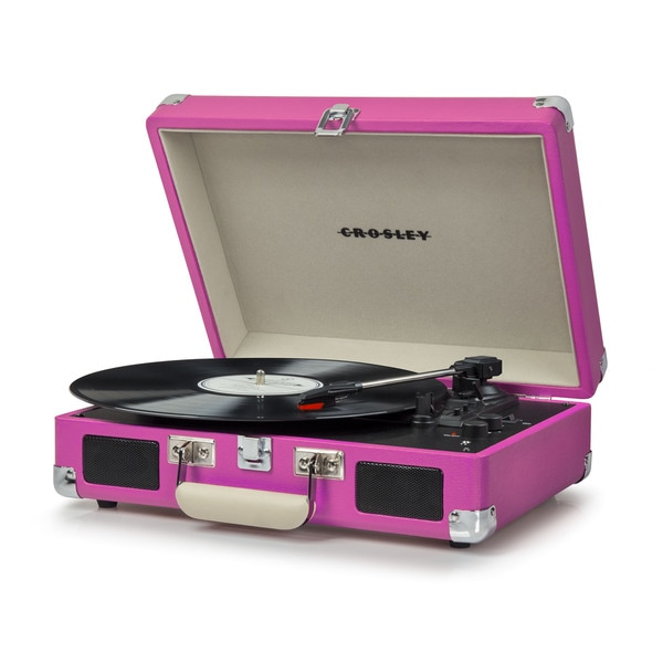 Cruiser Deluxe Bluetooth Turntable- Pink 25960951