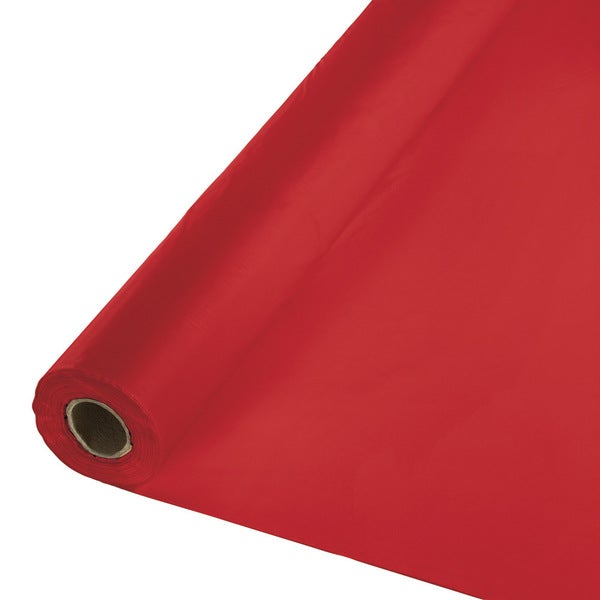 Touch of Color Banquet Roll 40 inch x 100' Classic Red ,Case of 1 25986521
