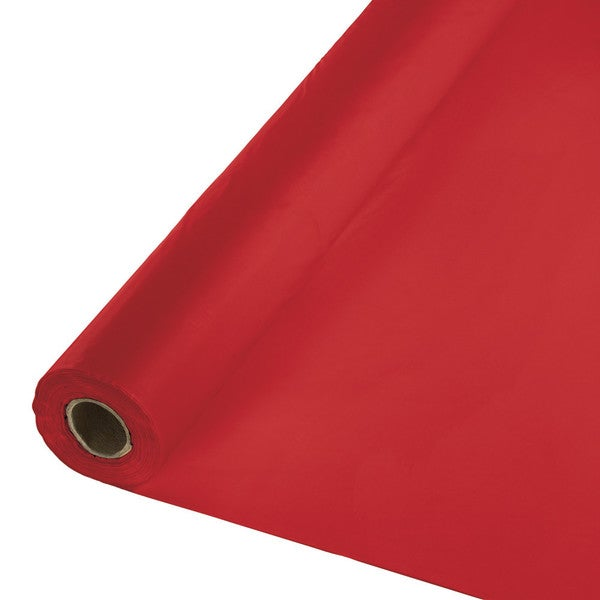 Touch of Color Banquet Roll 40 inch x 250 foot Classic Red ,Case of 1 25990907