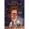 Who Was Thomas Alva Edison? (Paperback)