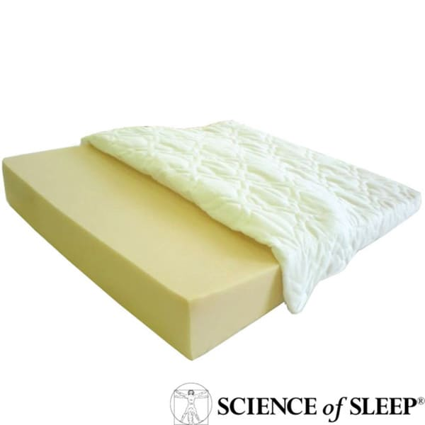 science of sleep angled specialty foam wedged sleep aid With angled pillow for acid reflux